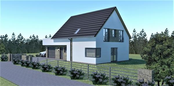 projekt domu mieszkalnego